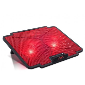 Spirit Of Gamer Airblade 100 Gaming Laptop Cooler Red (SOG-VE100RE)