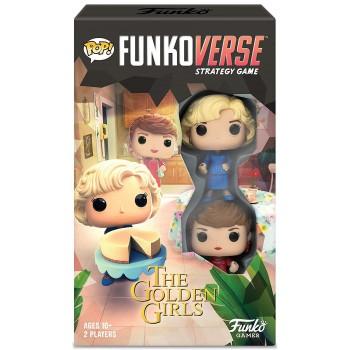 Funko Pop! Funkoverse: Golden Girls - Expandalone (Επιτραπέζιο Παιχνίδι στα Αγγλικά με 2 Φιγούρες)