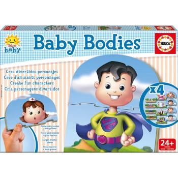 Educa Παζλ 12τεμ. Παιδικό Infantil Baby Bodies 16222
