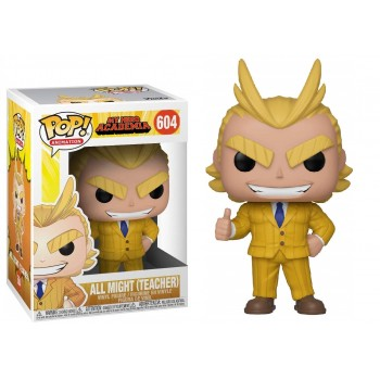 Funko Pop! Animation my Hero Academia - all Might (Teacher) #604 Vinyl Figure