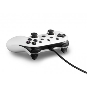 Spartan Gear Oplon Wired Controller for pc - ps3 (White)