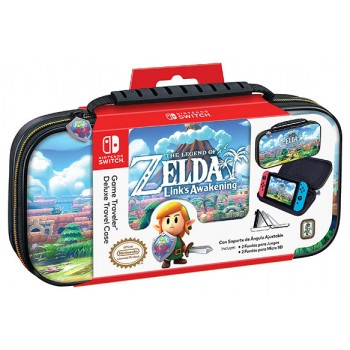 Ardistel Nintendo Switch™ Game Traveler Deluxe Travel Case Licensed (NNS47) Zelda A Link's Awakening Design