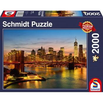 Schmidt 58189 Παζλ 2000τεμ. New York