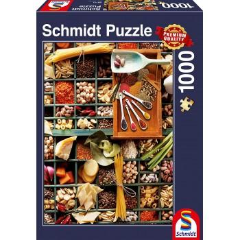 Schmidt 58141 Παζλ 1000τεμ. Standard - Ποτ-πουρί κουζίνας