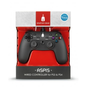 Spartan Gear Aspis Wired Controller for Ps3,ps4