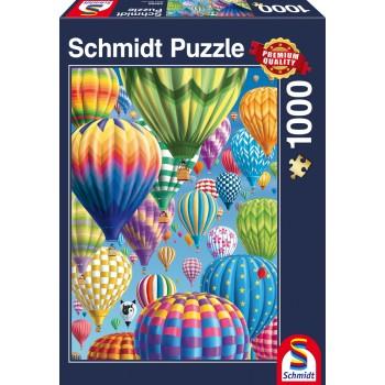 Schmidt 58286 Παζλ 1000τεμ. Αερόστατα