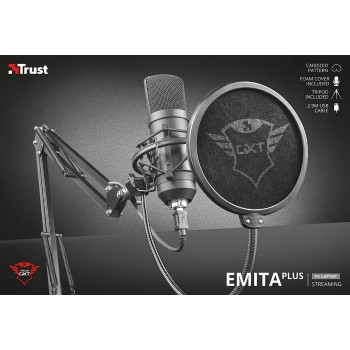 Trust Gxt 252+ Gaming Microphone Emita Plus (22400)