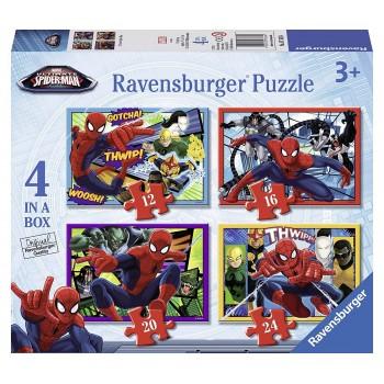Ravensburger 07363 Πάζλ Παιδικό 12/16/20/24 τεμ. Spiderman