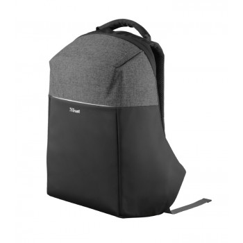 "Trust nox Anti-Theft Backpack for 16"" Laptops - Black (23083)"