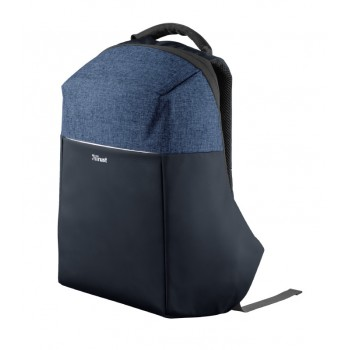"Trust nox Anti-Theft Backpack for 16"" Laptops - Blue (23307)"