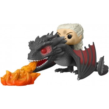 Funko Pop! Rides Game of Thrones - Daenerys on Fiery Drogon #68 Vinyl Figure