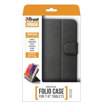 """Trust Aexxo Universal Folio Case 7-8"""" Black (21067)"""