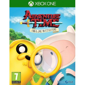 Μεταχειρισμένο Xbox one Adventure Time: Finn & Jake Investigations