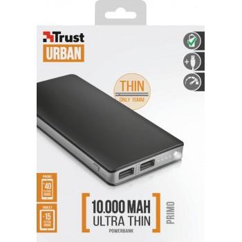 Trust (22577) Primo Thin Powerbank 10.000mAh
