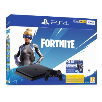 Console Sony Playstation 4 PS4 Slim 500GB & Fortnite Neo Versa Voucher