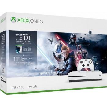 Console Microsoft Xbox one s 1tb Star Wars Jedi:fallen Order Bundle
