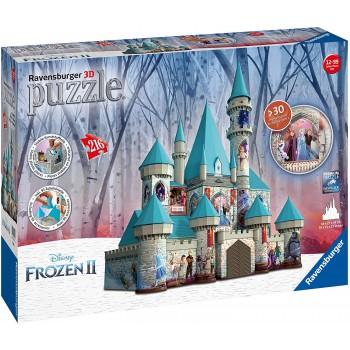 Ravensburger 11156 Πάζλ 3D Κάστρο Disney Frozen II 216τεμ.