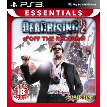 Μεταχειρισμένο PS3 Dead Rising 2 Off The Record Essentials
