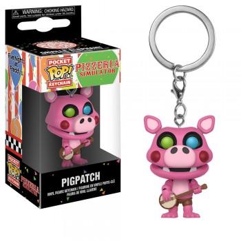 Funko Pocket Pop! Five Nights at Freddy's - Pizza Sim Pigpatch Vinyl Figure Keychain