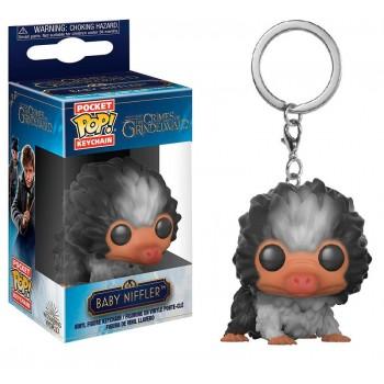 Funko Pocket Pop! Fantastic Beasts - Baby Niffler Black-White Keychain