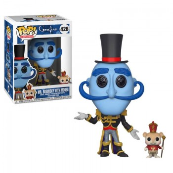Funko Pop! Animation: Coraline - Mr. Bobinsky with Mouse #426 Vinyl Figure