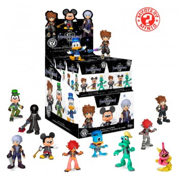 Funko Mystery Minis Blind Box: Disney Kingdom Hearts 3 Vinyl Figure (1 Pack)