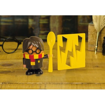 Paladone Harry Potter - Harry Potter Egg Cup and Toast Cutter (PP3909HP)