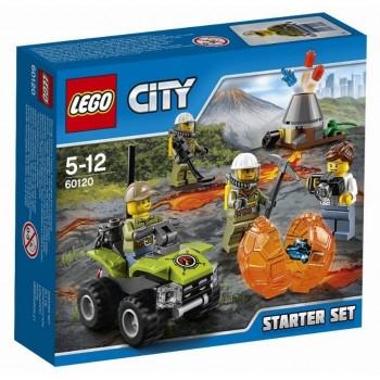 Lego City 60120 Volcano Starter Set