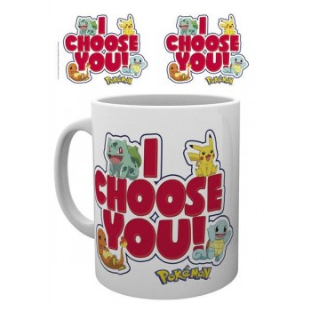 Gb eye Pokemon i Choose you mug (MG1886)