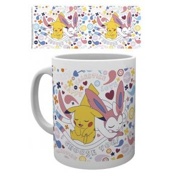 Gb eye Pokemon Valentine Choose you mug (MG2199)