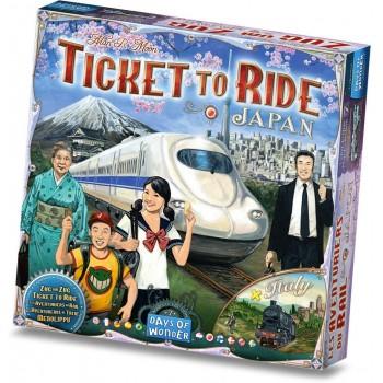 Επιτραπέζιο Ticket to Ride - Japan & Italy (Επέκταση Στα Αγγλικά)