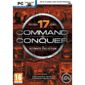 Pc Command And Conquer : The Ultimate Collection (Code In A Box)
