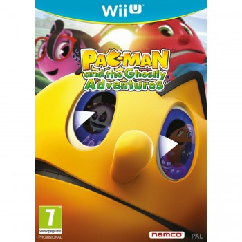Wii U Pac-man and the Ghostly Adventures
