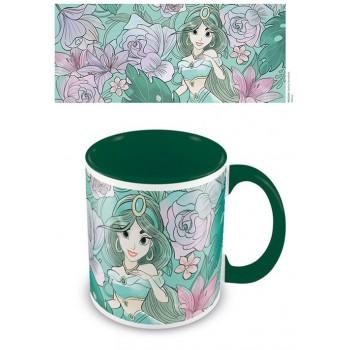 Pyramid Disney Aladdin (Floral Jasmine) Green Mug (MG25261)