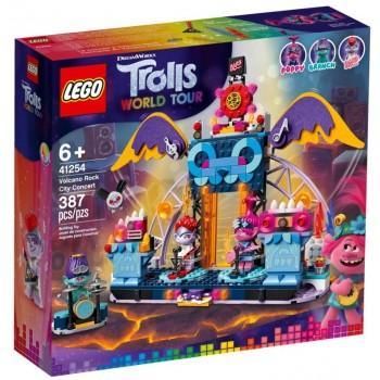 Lego Trolls World Tour 41254 Volcano Rock City Concert