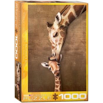 Eurographics Πάζλ 1000τεμ. 6000-0301 Giraffe Mother's Kiss