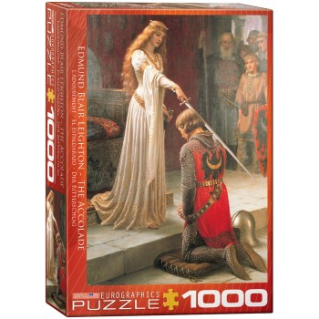 Eurographics Πάζλ 1000τεμ. 6000-0038 The Accolade by Edmund Leighton - Officially Licenced Museum