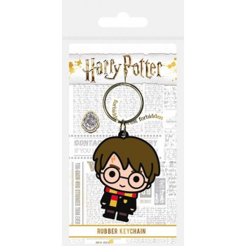 Pyramid International Harry Potter Rubber Keychain Chibi Harry 6 cm Rk38831c