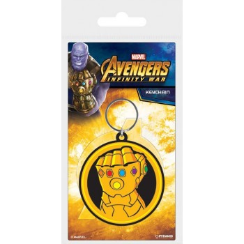 Pyramid International Avengers Infinity war Rubber Keychain Infinity Gauntlet 6 cm Rk38798c