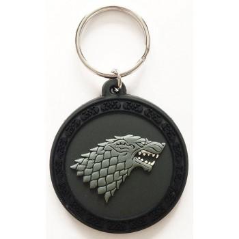 Pyramid International Game of Thrones Rubber Keychain Stark 6 cm Rk38366