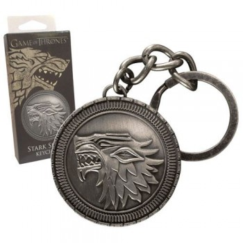 Noble Collection Game of Thrones Metal Keychain Stark Shield Nob0034