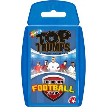 Επιτραπέζιο Top Trumps Euro Football Stars Αγγλικό 026697