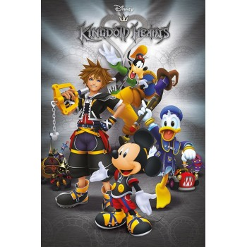 Pyramid International Kingdom Hearts Classic Poster 61 x 91 cm (PP34334)