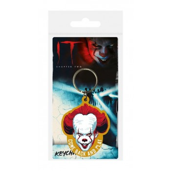 Pyramid International it Chapter two Rubber Keychain Come Back and Play 6 cm Rk38962c