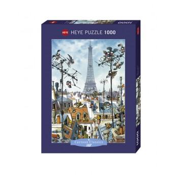 HEYE 29358 Παζλ 1000τεμ. Cartoon Classics:Loup Eiffel Tower