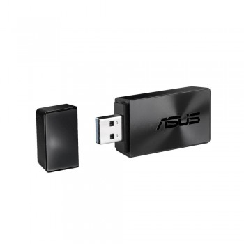 Asus USB-AC54 Dual-band Wireless-AC1300 USB 3.0 Wi-Fi Adapter (90IG0410-BM0G10)