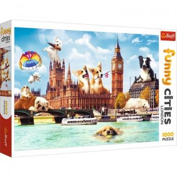 Trefl Πάζλ 1000τεμ. Funny Cities - London Dogs 10596