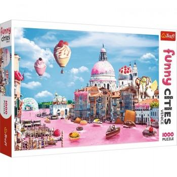 Trefl Πάζλ 1000τεμ. Funny Cities -Venice Sweets 10598