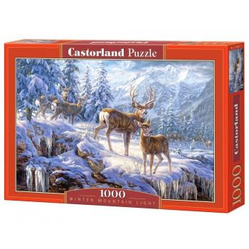 Castorland 102501 Παζλ 1000τεμ. Winter mountain light