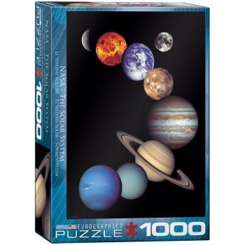 Eurographics Πάζλ 1000τεμ. 6000-0100 NASA The Solar System